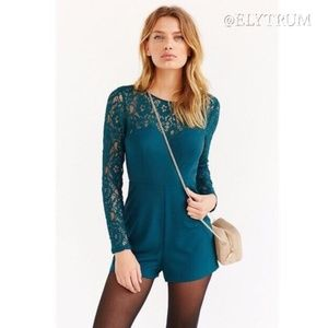 Urban Outfitters Kimchi Blue lace romper